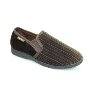 Goodyear Mens Calder Brown Slippers